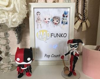Exclusive Vinyl FUNKO POP Digital Collectors Display Shadow BOX Counter