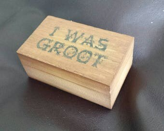 Small trinket box inspired by Marvel Superheroes
