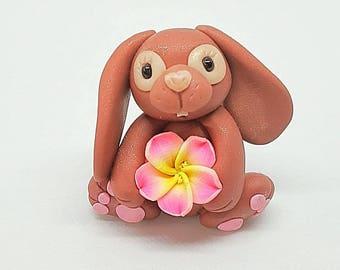 Rabbit lover gift, bunny lover gift, rabbit ornament, rabbit gift, bunny decor, animal lover, bunny decoration, easter gift, easter decor