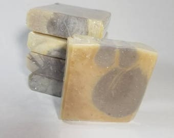 Lavender Mint with Green Tea handmade soap