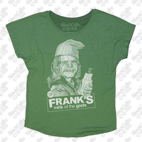 St Patricks Day Shirt - Shameless Shirt - Frank from Shameless Hand Screen Printed on a Womens Dolman - Green St. Patricks Day Shirt