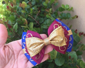 Happily ever after inspired hairbow
