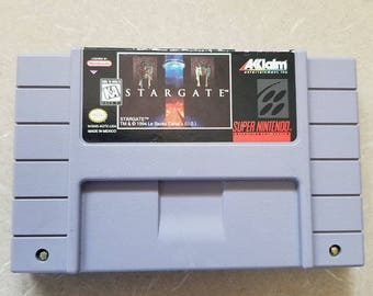 Stargate SNES Super Nintendo Game