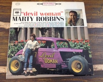 Devil Woman Marty Robbins Vintage Vinyl Record LP 1962