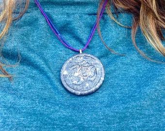 "The ""Aum"" Orgone Amulet - Aura Protection"