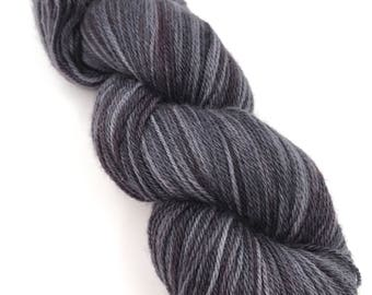 Hand Dyed Yarn - 4 ply (Fingering) - Storm