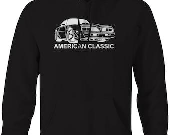 American Classic Pontiac Firebird Transam Y82  Hooded Sweatshirt- U181