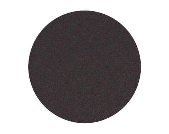 Midnight, 26 mm pan, Pressed Matte Eyeshadow, Black Eyeshadow, Mineral Eyeshadow