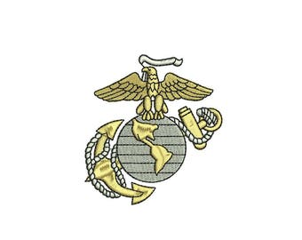 United States Marine Core embroidery