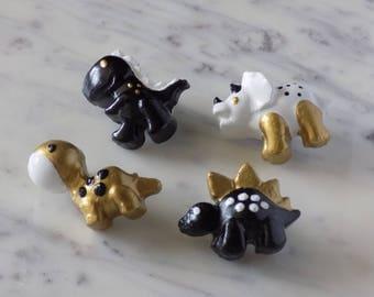Dinosaur Pins - Set of 4