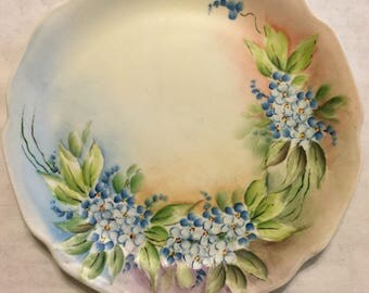 Hand Painted Wall Plate