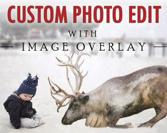 Custom Photo Edit with Your Image Overlay - I'll Edit Your Image to Add PNG Overlays