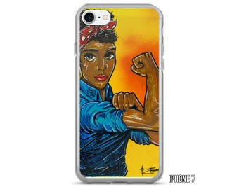 Rosie The Riveter iPhone Case (5 - 7 Plus)