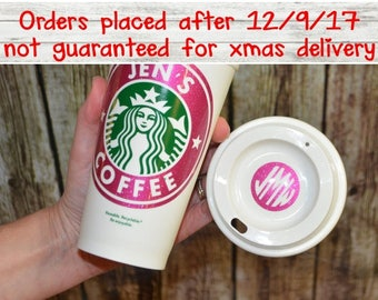 Personalized Starbucks Cup •  Personalized Coffee Cup • Custom Coffee Mug • Custom Tea Cup [girlfriend gift, birthday gift, gift for her]