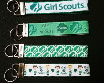 Girl scouts key chains
