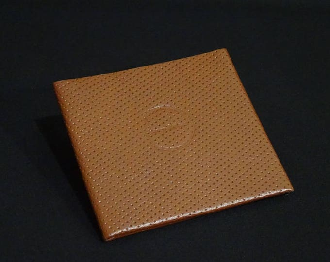 10Pocket Wallet - Brown Weave - Kangaroo leather with RFID credit card blocking - Handmade - James Watson