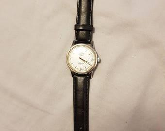 Rare vintage enicar ultrasonic seapearl 21 jewels watch