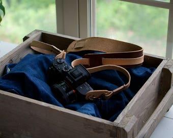 Camera Strap, Leather Camera Strap, Handmade Strap