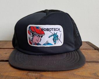 Vintage Robotech Trucker Hat