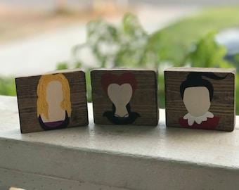 Hocus Pocus Set of 3 mini Blocks
