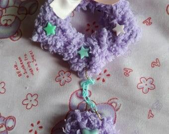 Fluffy Star (purple)