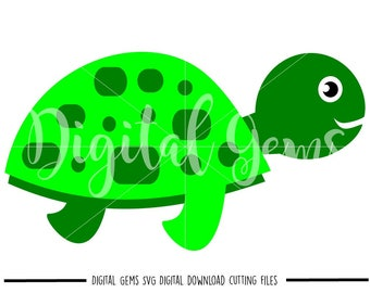 Turtle svg / dxf / eps files. Digital download. Compatible with Cricut and Silhouette machines. Small commercial use ok.