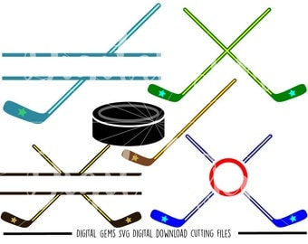 Ice Hockey svg / dxf / eps / png files. The files work well with Silhouette and Cricut. Digital Download. Commercial use ok.