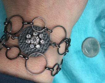 Hematite necklace/wrap bracelet