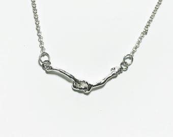 Knot UR Cherry Necklace