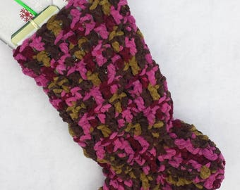 Knit Christmas stocking