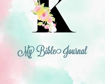 Traveler's Notebook Inserts/ Midori Insert /Bullet Journaling/Bujo/Bible Journal Choose Your Initial. ALL SIZES