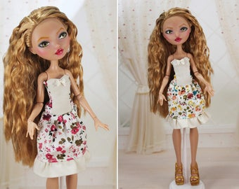 4 COLORS! Clothes/Outfit/Dress for Ever After High dolls