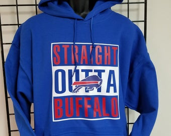 Straight outta Buffalo, Bills, Football Fan, Football Hoodie, Football Tshirt, For Her, For Him, Bills Football,