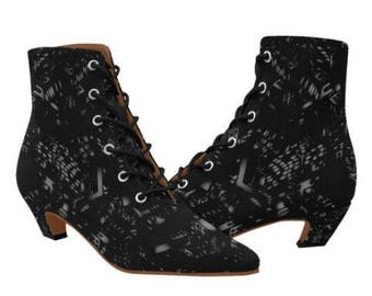 Sandra Burchette Signature Low Heel Boots