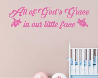 Baby Girl Wall Decal | Etsy Part 71