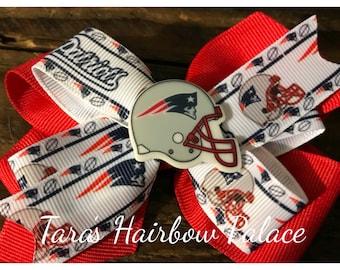 Patriots Hair Bow / Clip