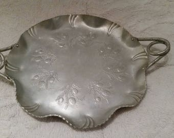 Collectible Silver Tray
