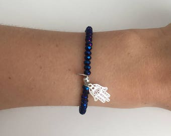 Hamsa hand bracelet!