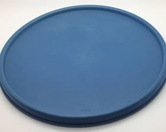 Tupperware  Seal 1702 Blue   7 1/4 Inch Seal Fits 1701  Stack A Bowl Mixing Bowl  Lid Replacement Cover