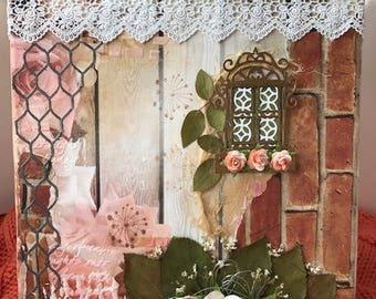 """Mixed Media on Canvas - """"The Garden"""""""