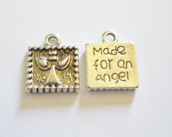 2 Angel charms