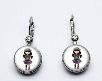 Doll Hat earrings