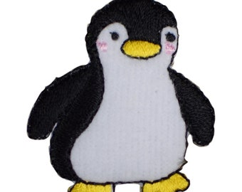 Penguin Boy Applique Patch (Iron on)