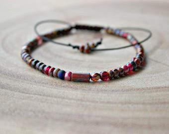 4mm Beaded Bracelet / Small Beads Bracelet
