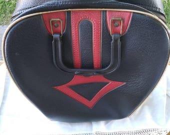 Vintage, bag, bowling ball bag, bowling bag, luggage, purse, handbag, sports bag, overnight bag