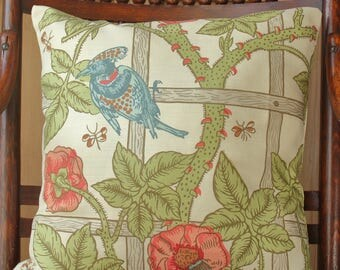 William Morris Trellis Cushion Cover