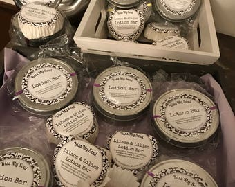 Silky Body Butter Bars (solid lotion)