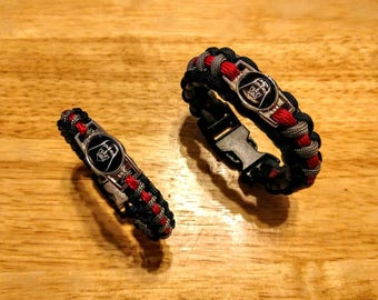 Star Wars Darth Vader Inspired Paracord Bracelet