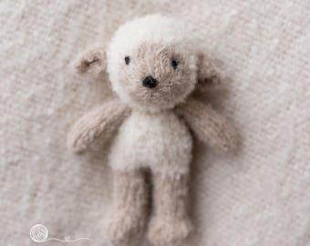 knitted lamb, handmade lamb, Newborn girl, Newborn boy, photography prop, handmade lamb, lamb bonnet