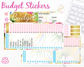 Budget Sticker Kit | August